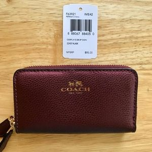 Coach Double Zip Coin and Card Case
